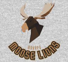Makapu Moose Lions One Piece - Short Sleeve