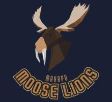 Makapu Moose Lions Baby Tee