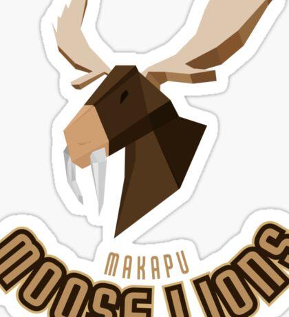 Makapu Moose Lions Sticker