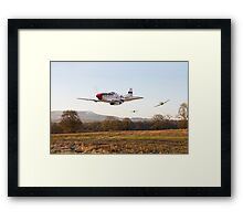 P51 Mustang - Through the Gap Framed Print