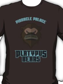 Pinnacle Palace Platypus Bears T-Shirt