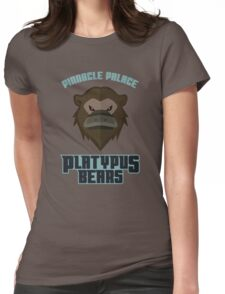 Pinnacle Palace Platypus Bears Womens Fitted T-Shirt