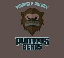 Pinnacle Palace Platypus Bears Unisex T-Shirt