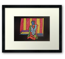 The Abyss by Tristana Fitzgerald Framed Print