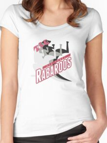 Red Sands Rabaroos Women's Fitted Scoop T-Shirt