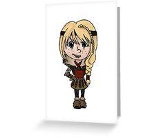 Chibi Astrid Greeting Card