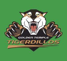 Golden Temple Tigerdillos Baby Tee