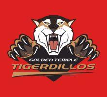 Golden Temple Tigerdillos Kids Tee