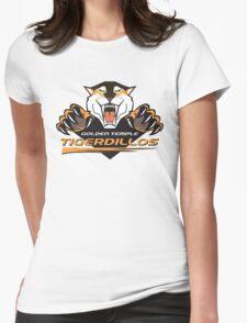 Golden Temple Tigerdillos Womens Fitted T-Shirt