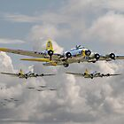 B17 - 486th Bomb Group by Pat Speirs