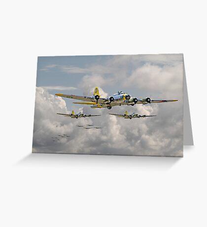 B17 - 486th Bomb Group Greeting Card