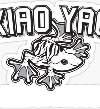 Xiao Yao Zebra Frogs Sticker