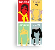 Monkey Magic 4 Canvas Print