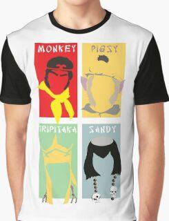 Monkey Magic 4 Graphic T-Shirt