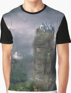 Castle in the Clouds Graphic T-Shirt