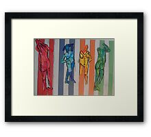 Trapped by Tristana Fitzgerald Framed Print