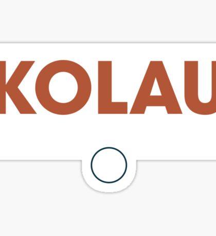 Komodo Rhinos Practicewear Sticker