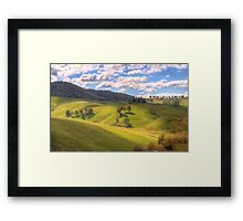 Light and Shadows - Oberon , NSW, Australia - The HDR Experience Framed Print