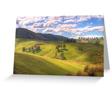 Light and Shadows - Oberon , NSW, Australia - The HDR Experience Greeting Card