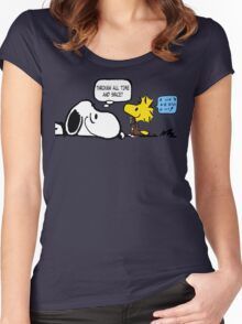 We'll Be the Best Friends... Women's Fitted Scoop T-Shirt