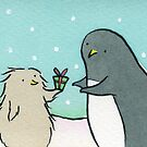 Penguin Christmas - Thanks for the Fish by zoel