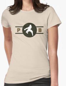 Badgermoles Pro-Bending League Gear Womens Fitted T-Shirt