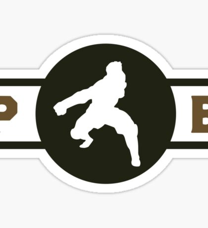 Badgermoles Pro-Bending League Gear Sticker
