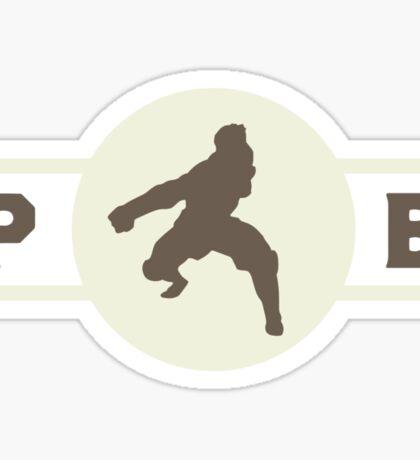 Badgermoles Pro-Bending League Gear (Alternate) Sticker