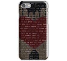 Over And Over Again (Nathan Sykes) iPhone Case/Skin