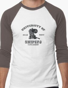 College of sniping Men's Baseball ¾ T-Shirt