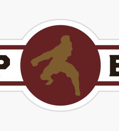 Boarcupines Pro-Bending League Gear Sticker