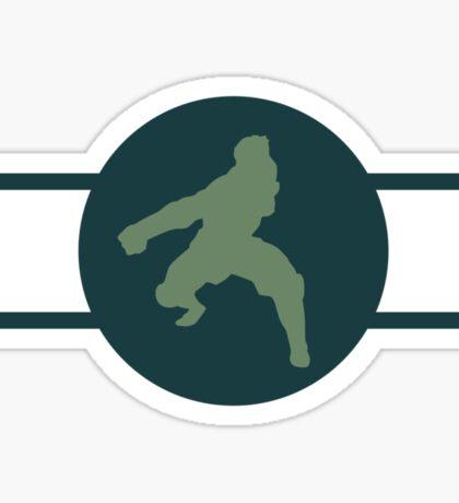 Eel Hounds Pro-Bending League Gear Sticker