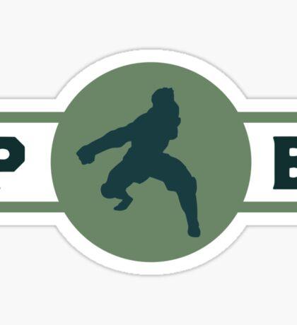 Eel Hounds Pro-Bending League Gear (Alternate) Sticker