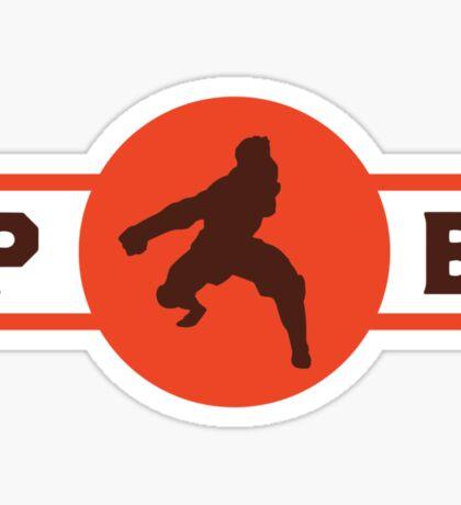 Fire Ferrets Pro-Bending League Gear (Alternate) Sticker