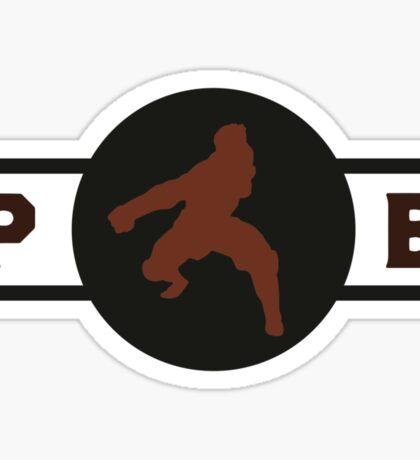 Hog Monkeys Pro-Bending League Gear Sticker