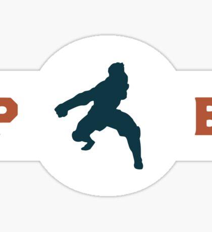 Komodo Rhinos Pro-Bending League Gear Sticker