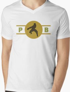 Mongoose Lizards Pro-Bending League Gear (Alternate) Mens V-Neck T-Shirt
