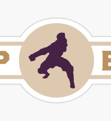Moose Lions Pro-Bending League Gear (Alternate) Sticker