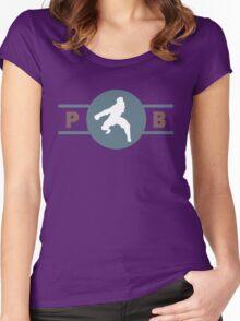 Ostrich Horses Pro-Bending League Gear Women's Fitted Scoop T-Shirt