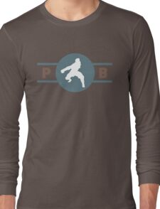 Ostrich Horses Pro-Bending League Gear Long Sleeve T-Shirt