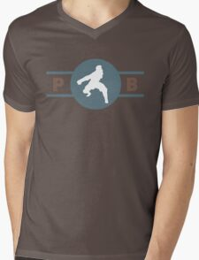 Ostrich Horses Pro-Bending League Gear Mens V-Neck T-Shirt