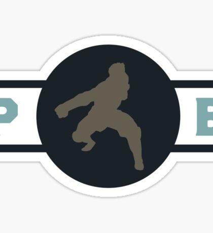 Platypus Bears Pro-Bending League Gear Sticker