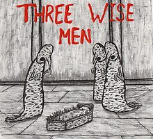 Christmas in Hell: Three Wise Men by vivmondo