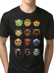 Emoji Wars Tri-blend T-Shirt