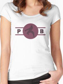 Wolfbats Pro-Bending League Gear (Alternate) Women's Fitted Scoop T-Shirt