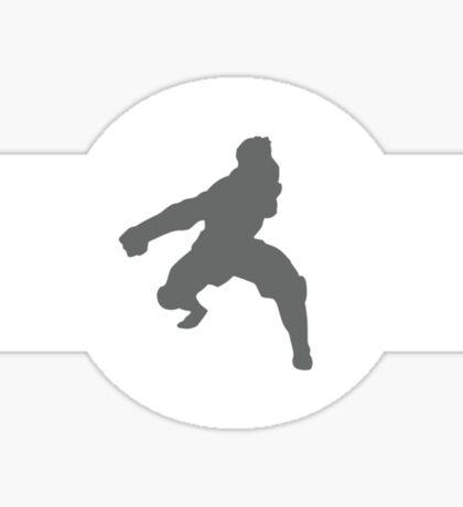 Zebra Frogs Pro-Bending League Gear Sticker
