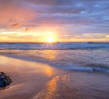 Turimetta Beach Sunrise  by Jennifer Bailey