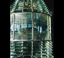 Navesink Fresnel Lens - - Posters & More by Maria A. Barnowl