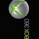 xbox 360, black by chippie96
