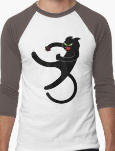 NINJA CAT 3 Men's Baseball ¾ T-Shirt